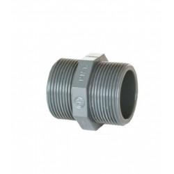 MACHON DOBLE PVC SERIE ROSCAR 1/2