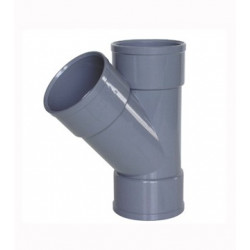 DERIVACION SIMPLE PVC HH 45X32