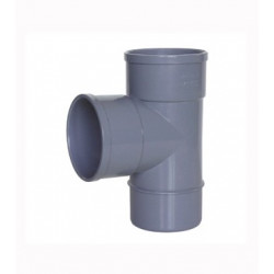 DERIVACION SIMPLE PVC M-H 89X32