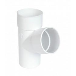DERIVACION SIMPLE 87X40 PVC BLANCO