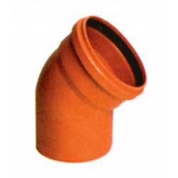 CODO M-H 45X125 PVC TEJA