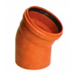CODO M-H 30X160 PVC TEJA C/JUNTA