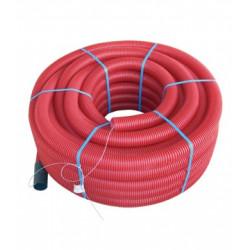 Ml tubo rollo 63 corrugado rojo canalizacion n - Tubo corrugado rojo ...