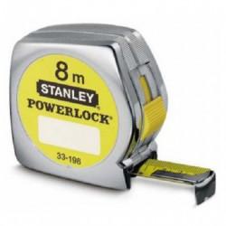 FLEXOMETRO STANLEY POWERLOCK 8M X 25MM