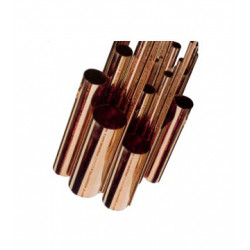ML TUBO COBRE FRIGORIFICO 1/2 BARRA 12,70X0,80 UNE12735-1