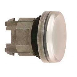 TEE CABEZA PILOTO LUMINOSO LED BLANCO ZB4BV013