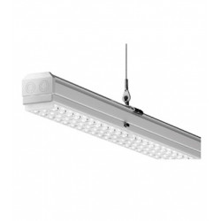 TRILUX PORTAEQUIPOS E-LINE LED 5500 43W 3000K 5100LM 7650 B