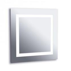 LEDS-C4 427-ES ESPEJO BAÑO 705X705 4X2G11 40W C/LAMPARA