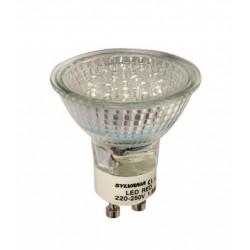 SYL LAMPARA DICROICA ES50 18 LEDS GU10 1,5W AMARILLO 0025125