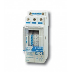 ORBIS OB330132 INTERRUPTOR HORARIO INCA DUO D S/RES 230V