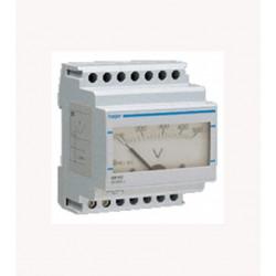 HAGER SM500 VOLTIMETRO ANALOGICO 0-500V