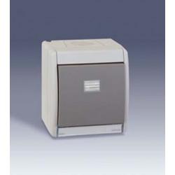 SIMON 4490150-035 PULSADOR GRIS 10AX 250V IP55 S-44 AQUA