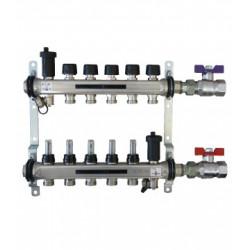 COLECTOR INOX WAFT 4 SALIDAS 3/4 EUROCONO 5L/MIN 1-DN32