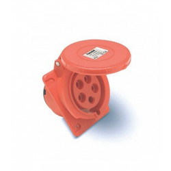 BASE CETAC CUADRO 3P+N+T 16A 6H IP67
