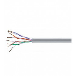 ML CABLE DATOS U/UTP 4P CAT-5E PVC C.305