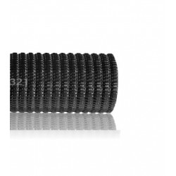 Ml tubo corrugado reforzado m 16 negro for Tubo corrugado reforzado