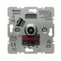 BERKER 286010 REGULADOR ROTATIVO PULS. 60-600W