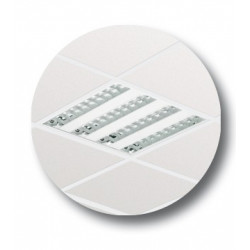 PHI 88801600 LUMIN EMPOTRAR TBS165 4XTL5-14W/840 HF-E C3