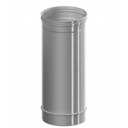 TRAMO CHIMENEA 0,50MT Ø80 INOX SIMPLE IS W