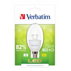 BOMBILLA LED VERBATIM 52603 VELA E14 (TRANSPARENTE