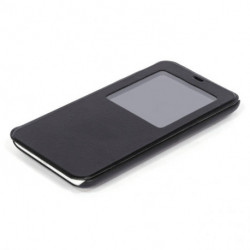 FUNDA MOVIL MEIZU AC1166 FLIP CONVER M2 MINI NEGRA