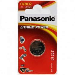 PILA LITIO PANASONIC CR-2032/1BP ( 1-BLISTER ) 3V