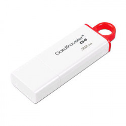 PENDRIVE 32GB KINGSTON DTIG4/32GB DATATRAVELER ROJ