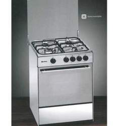 COCINA GAS MEIRELES G640DVX BUT 4F 60CM INOX